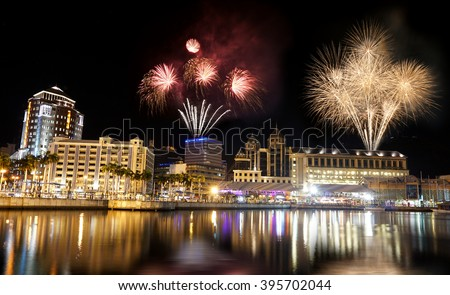 Port Louis Mauritius night photography