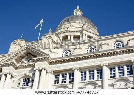 Port of Liverpool building, Liverpool, UK