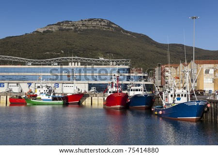 Port of Santoña, Cantabria, Spain