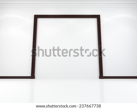 Portal on a white background - stock photo