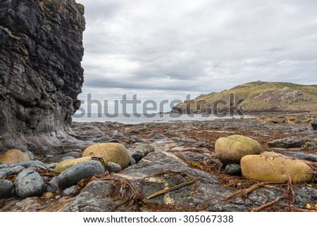 Porth ledden beach in cornwall england uk stunning location near cape cornwall. Penwith