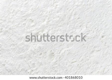 Portion of Milk Powder (detailed close-up shot) - stock photo