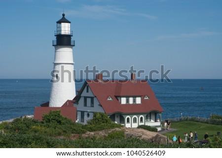 stock-photo-portland-head-lighthouse-cas