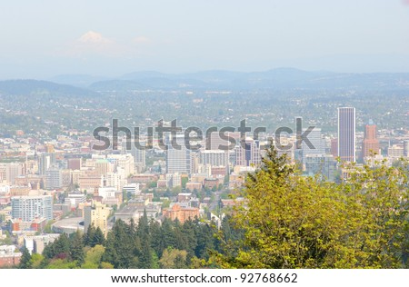 Portland, Oregon skyline