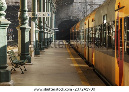 Train Platform Stock Photos Images Amp Pictures Shutterstock