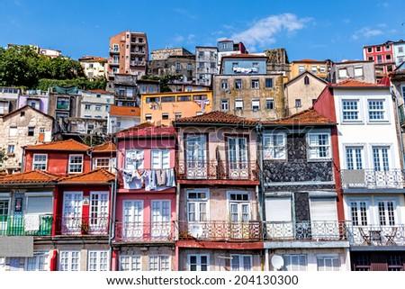 Porto, Portugal The historic centre of Porto - stock photo