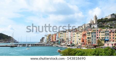 Portovenere, Italy - stock photo