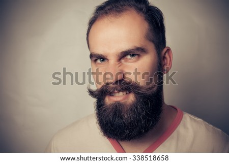 Portrait of a Bearded Man evil