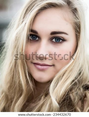 Blonde Blue Eyed Teen 35
