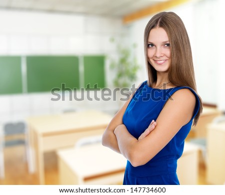 Portrait of a beautiful confident business woman. - stock photo