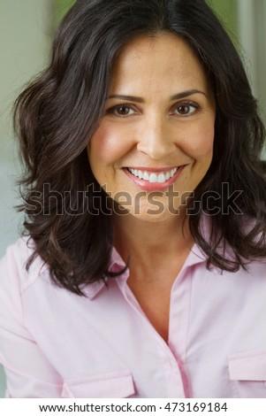 Mature hispanic woman