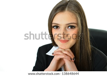 Portrait of a Business Woman - stock photo