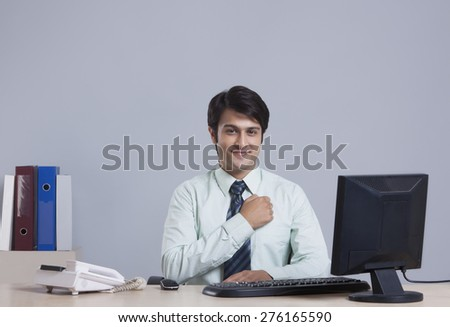 Portrait of a businessman