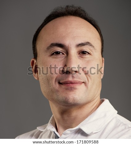 Portrait of a businessman, age thirty-five, thirty-seven years