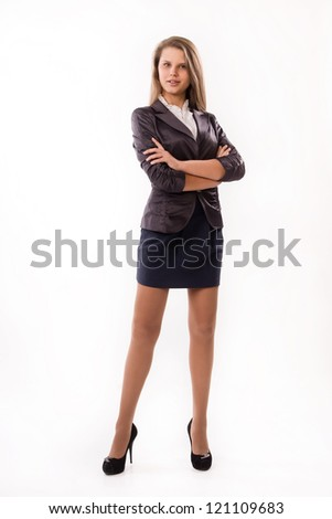 Portrait of a confident attractive business woman