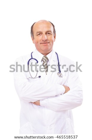 Portrait of a confident doctor