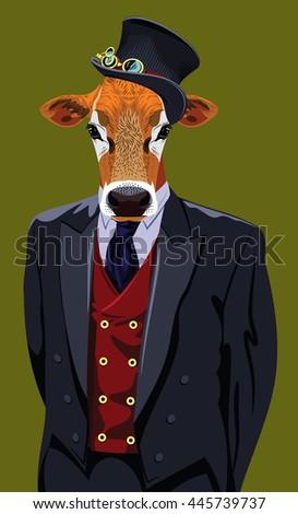 cow suit stock images royaltyfree images  vectors