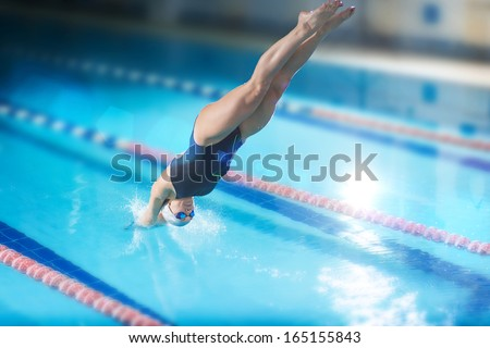 Diving Pool Stock Images Royalty Free Images Vectors Shutterstock