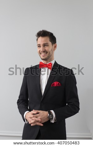 Red Bow Tie Stock Images, Royalty-Free Images & Vectors | Shutterstock