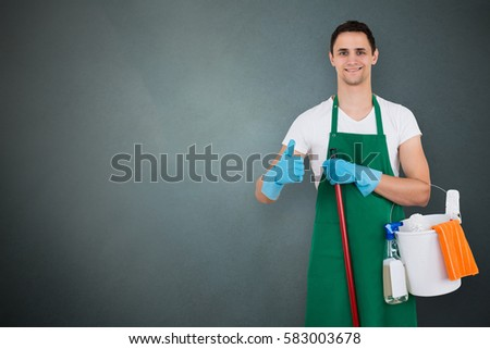 Janitor Stock Images Royalty Free Images Amp Vectors