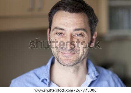 Portrait Of A Mature Spanish Man - stock photo