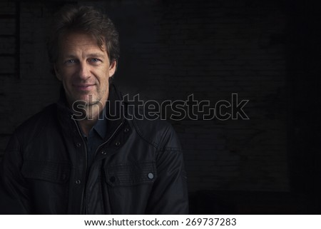 Portrait of a smiling man