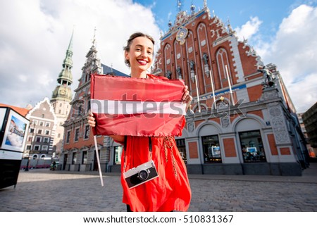 Young latvian lutheran women have