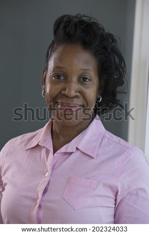 Portrait of an African-American woman with Portuguese ancestry