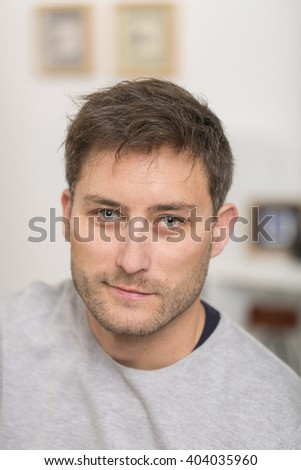 portrait of attrative man