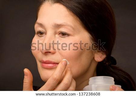 Portrait of beautiful asian woman - stock photo