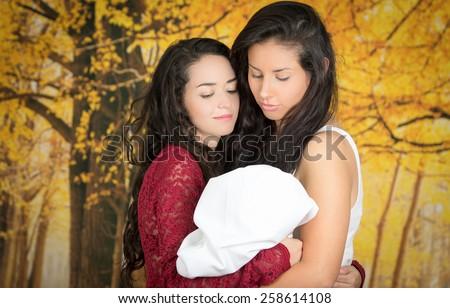 Lesbian babe love
