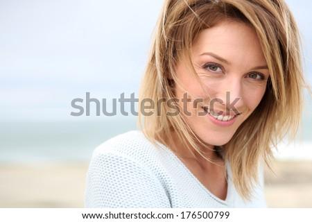 Beautiful 40 Year Old Woman Portrait Beautiful 40 ...