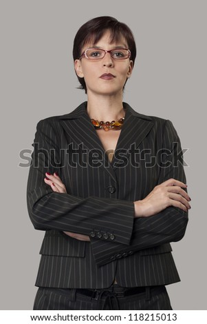 Portrait of business women with glasses