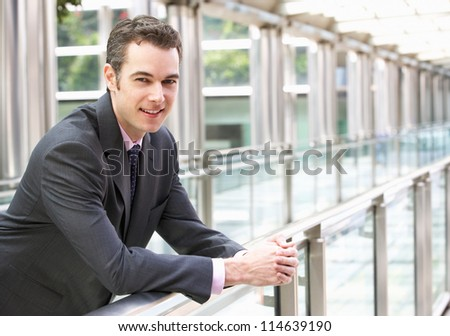 Portrait Of Businessman Outside Office