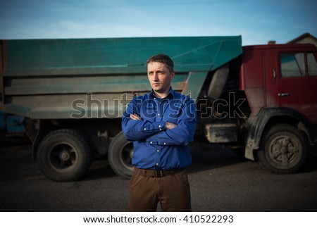 portrait of driver