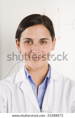 portrait of female science professional