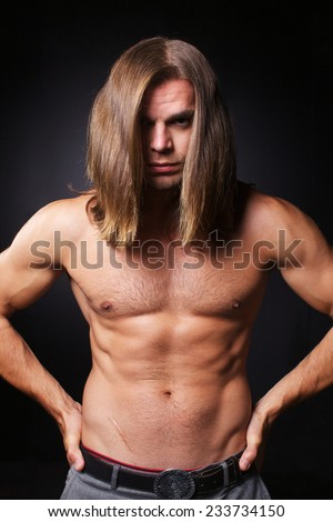 Naked guys with long hair — photo 13