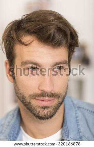 Portrait of handsome 30-year-old man