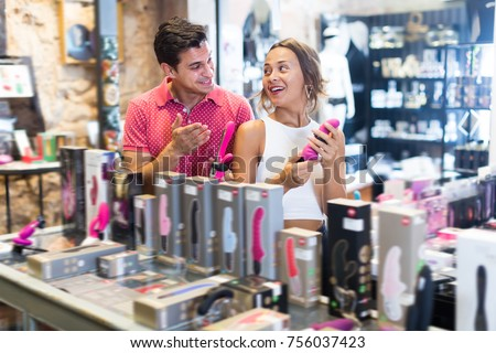 Man sex shopping