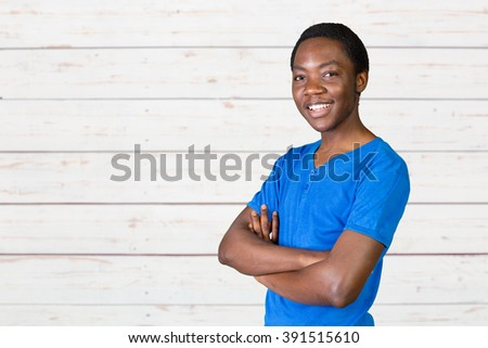 Portrait Of Happy Young African Man