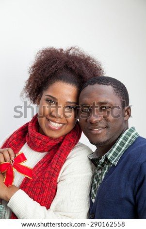 Portrait of husband and wife - stock photo