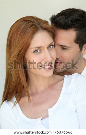 Portrait of in love couple