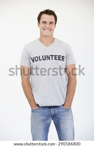 Portrait Of Male Volunteer