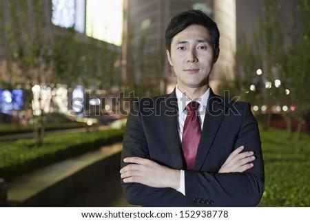 Portrait Of Professional Businessman - stock photo
