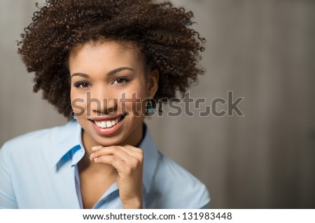 Portrait Of Successful Business woman - stock photo