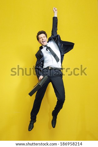 Portrait of successful businessman  - stock photo