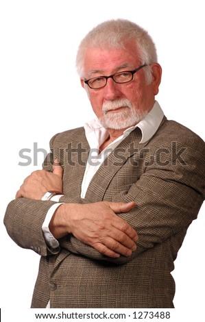 Portrait of successful executive - stock photo