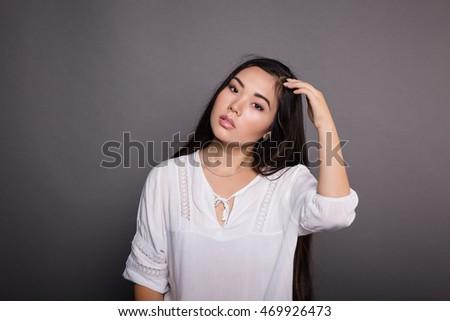 Asian model student