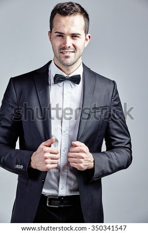 Black Bow Tie Stock Images, Royalty-Free Images & Vectors ...