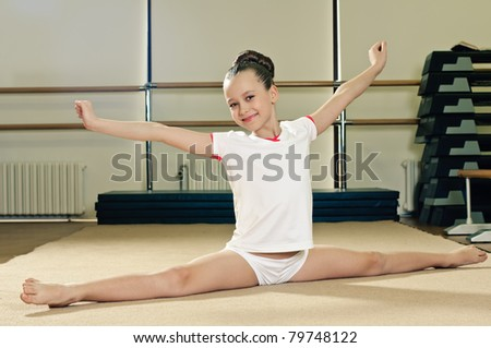 School skids Stock Photos, School skids Stock Photography, School ...young gymnast